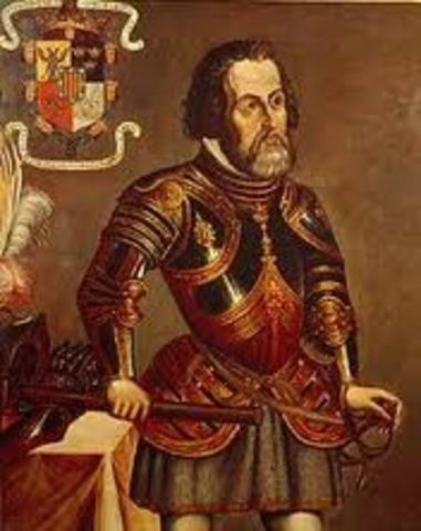 Cortes reaches Tenochtitlan