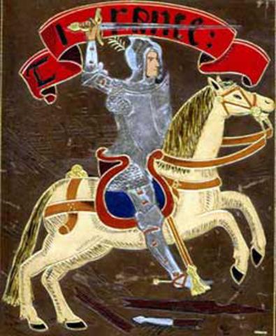 Neix Joanot Martorell (1405-1465)