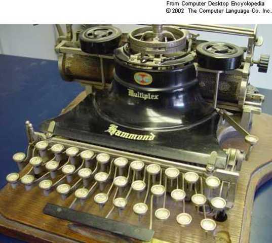 Christopher Scholes Typewriter