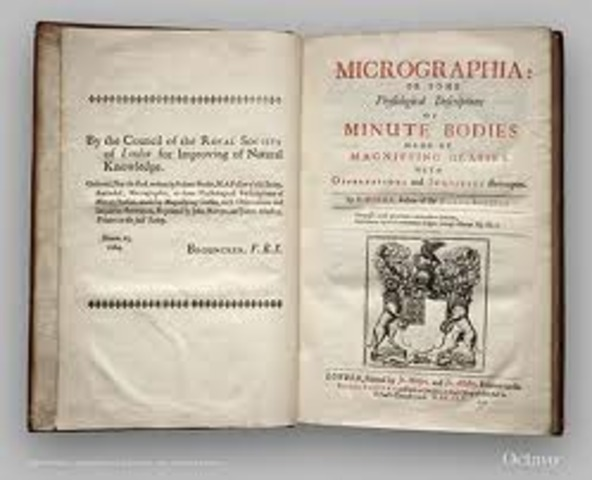 "Robert Hooke Publishes ""Micrographia"""