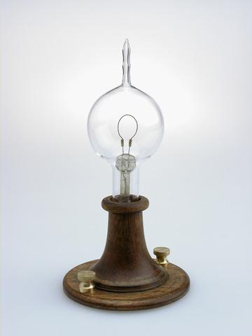 Edison Electric Lamp Patented