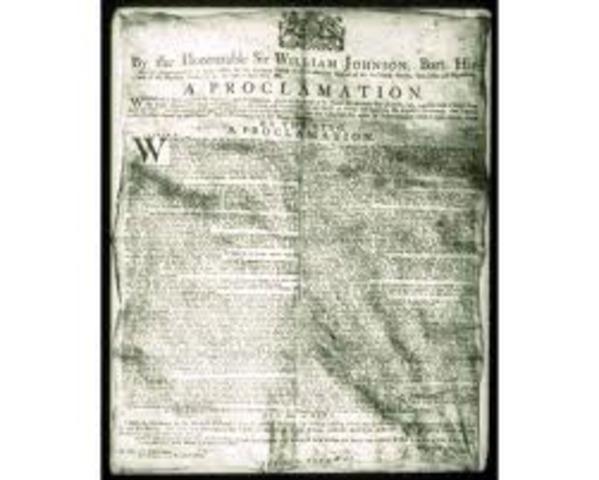 Proclamation of 1763 (Britain Prohibits Move)