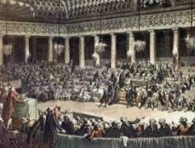 La Convención Nacional desaparece.