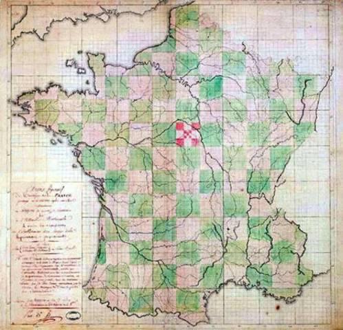 División de Francia en provincias