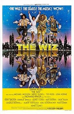 """Michael appears in the movie """"The Wiz"""""""