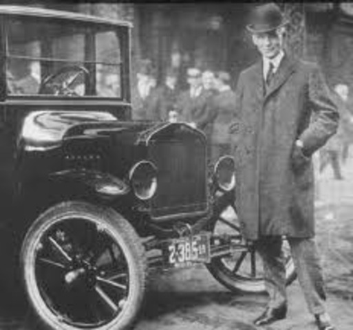 Henry Ford Creates an Affordable Automobile