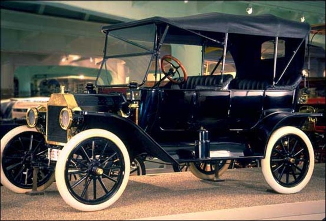 Henry Ford Mass produces his new Model T Automobile!
