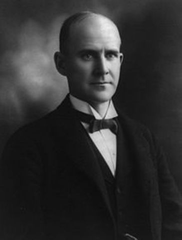 Eugene Debs: American Union leader and Socialist!
