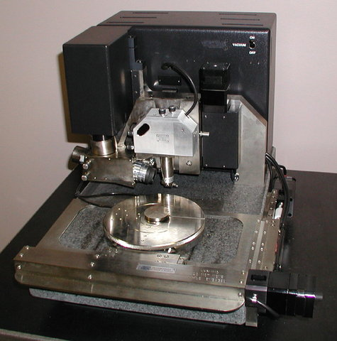 First Atomic Force Microscope