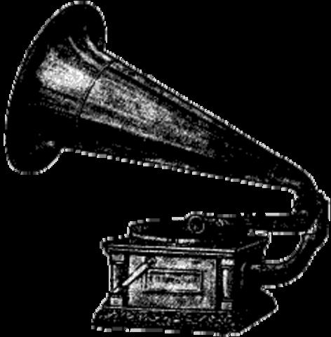 Gramophone by Thomas Edison