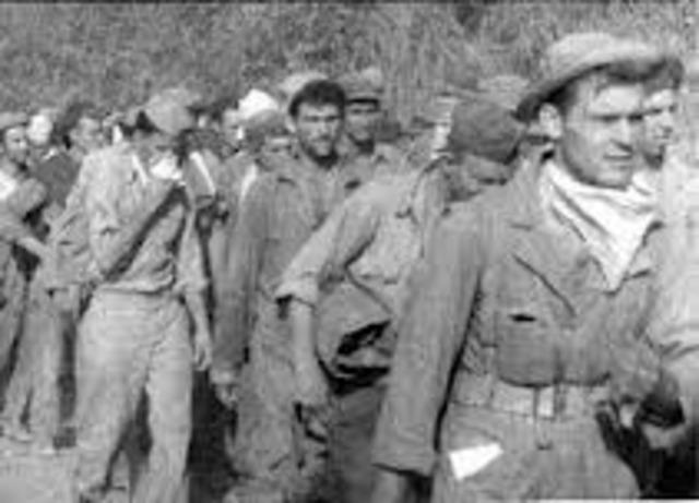 National Guards Men Captured at Bataan