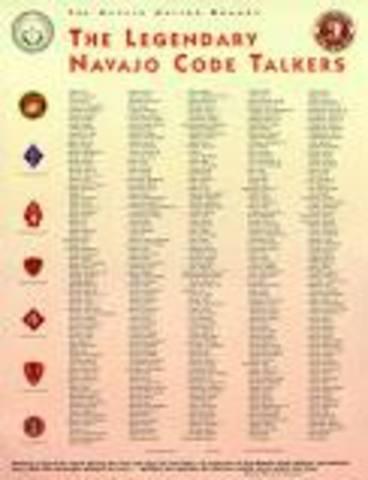 """Navajo Establish """"Code Talkers"""""""