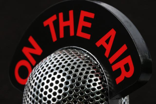 George Lopez Hosts Radio Show
