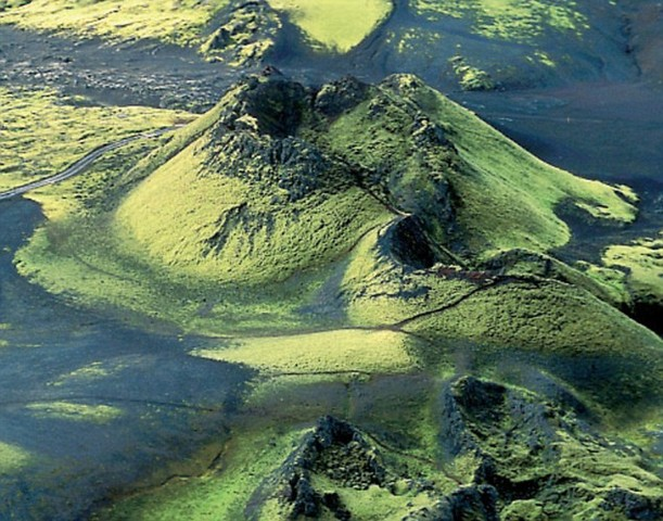 Laki volcano erupted and caused famine in iceland