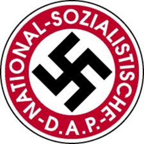 German Workers' Party (Deutsche Arbeiterpartei) DAP formed by Anton Drexler, Gottfried Feder, Dietrich Eckart and Karl Harrer