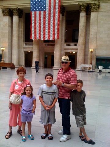 Hace 4 años que mi familia visitó a la familia extendida en Omaha
