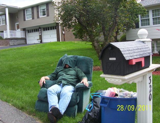 Hace 23 años que mi papá compró su sillón reclinable