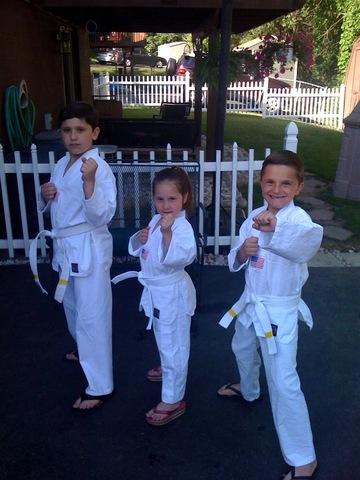 Hace 3 años que mis hijos practicaron Tae Kwon Do
