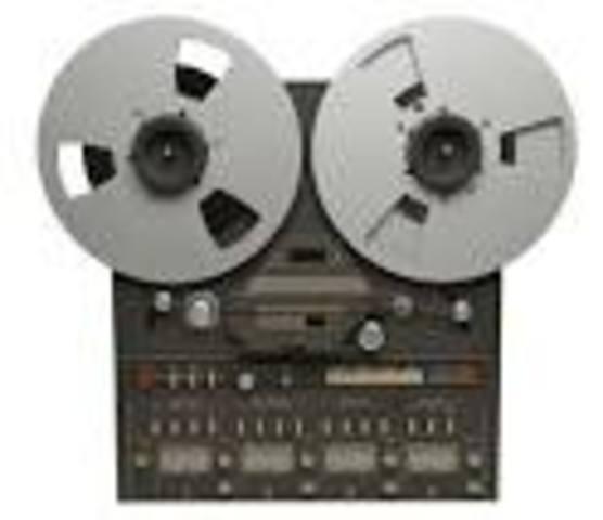 magnet tape recorder