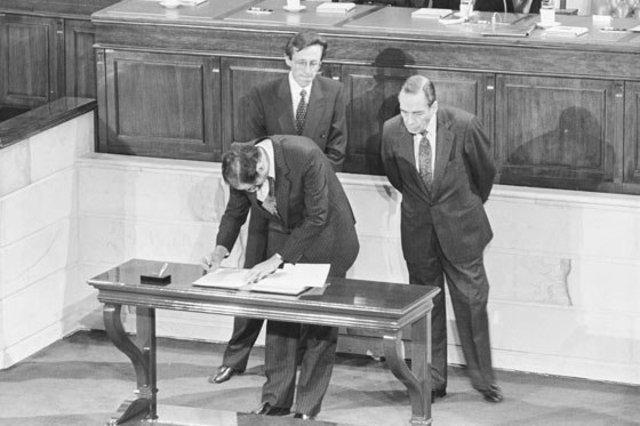 se firma la constituyente