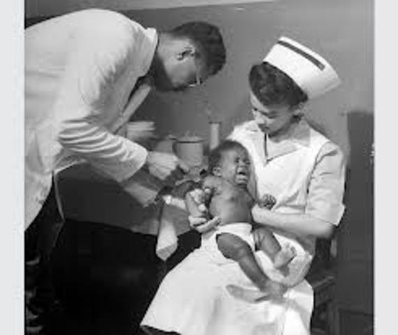 First Tetnus Vaccine