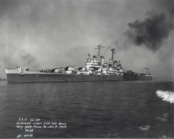 USS Santa Fe launched