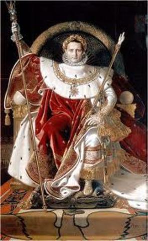Napoleone diventa imperatore
