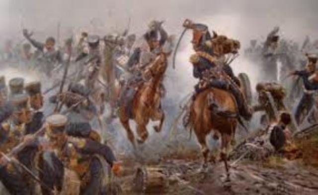 La sconfitta di Napoleone  a Lipsia