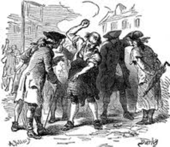 quartering acts 1770