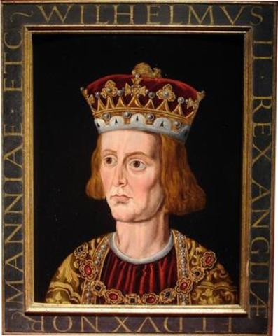 The reign of King William Rufus (son of William)
