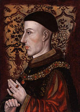 The reign of King Henry V (son of Henry IV)