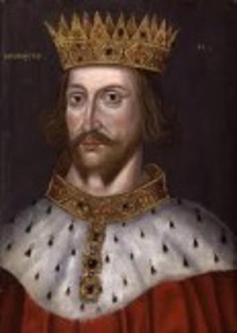 The reign of King Henry II (grandson of Henry I)