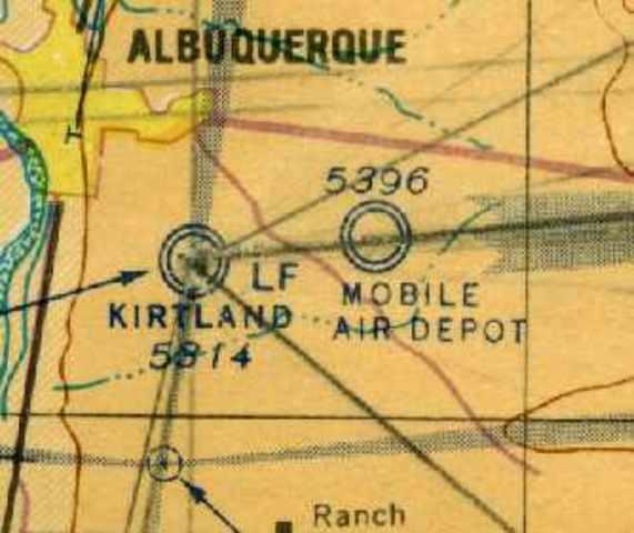 Albuquerque Army Air Base renamed Kirtland Field