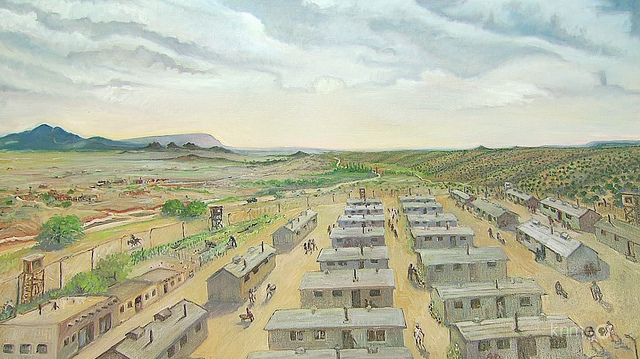Santa Fe interment Camps are established.
