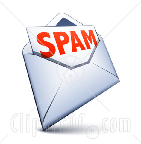 SPAM Emailed - Internet