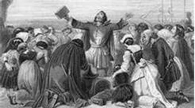 Puritans settle the Massachusetts Bay Colony