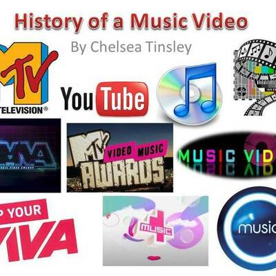 History of a music video timeline