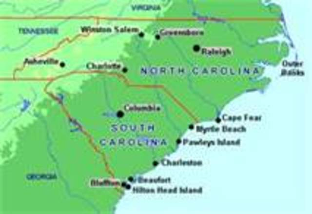 The Carolinas founded