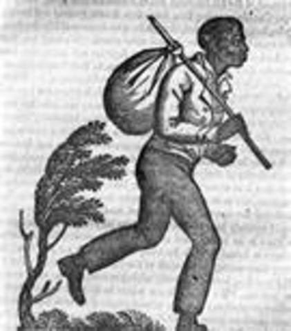 First African slaves are brought to Jamestown, VA