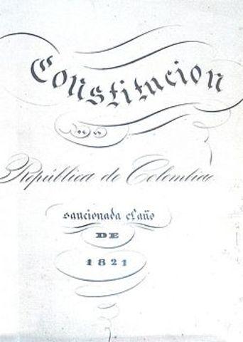 CONSTITUCION DE CUCUTA