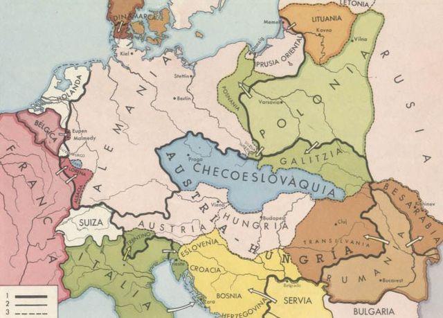 Alemania - Austria i les fonterteres