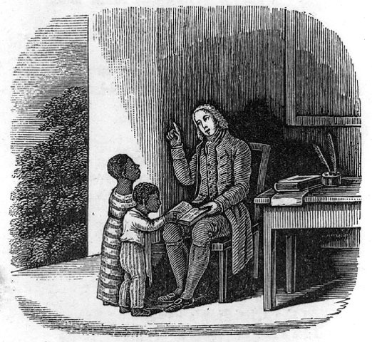 Quakers Open First School for Blacks