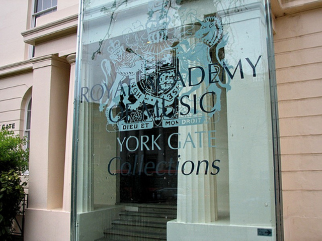 Opening of the Royal Academy of Music