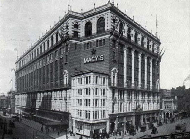First Macy's Opened