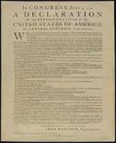 declaration of indapendance
