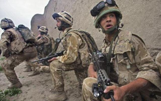 War in Afganastan Started