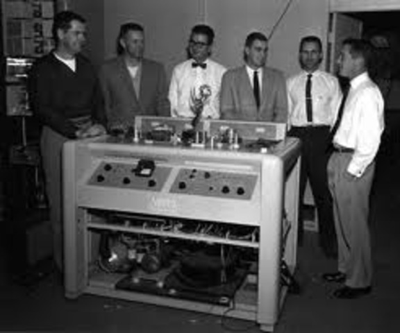 Ampex sold the first VTR for $50,000