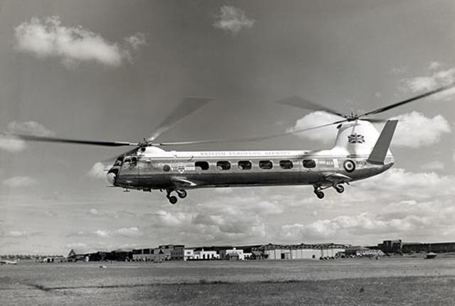First flight of the Bristol Type 173