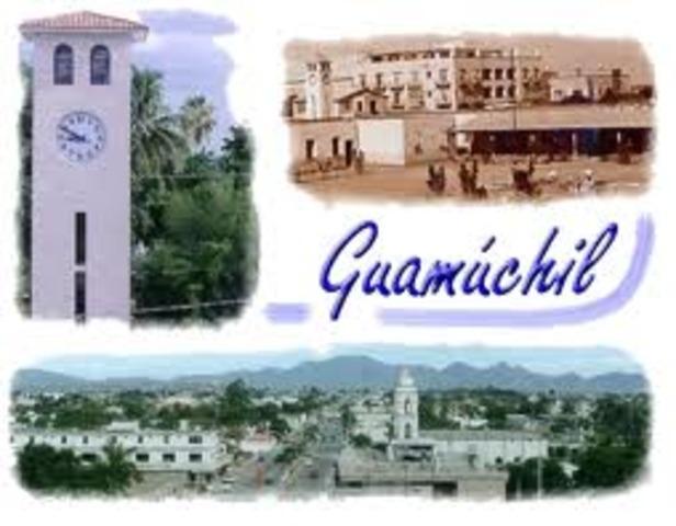 A edad muy temprana se trasladó con su familia a Guamúchil