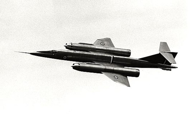 First flight of the Bristol Type 188